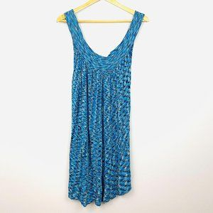 FREE PEOPLE Blue Sheer Over Lay